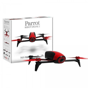 PARROT BEBOP2  RED (STANDALONE) - LIGHTWEIGHT COMPACT HD VIDEO DRONE