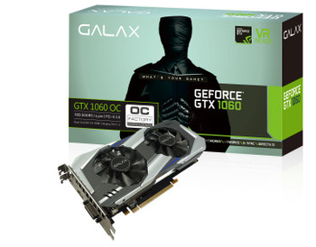 Galax GTX1060-OC-3GB GTX1060 Overclocked 3GB GDDR5