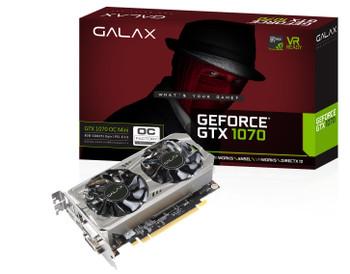 Galax GTX1070TI-EX-8GB-BLACK GTX1070TI Extreme Series 8GB GDDR5 - Black