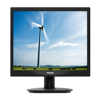 """Philips 17"""" Standard Black LCD Monitor with LED Backlight"""