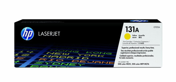 HP 131A Yellow LJ Toner Cartridge CF212A