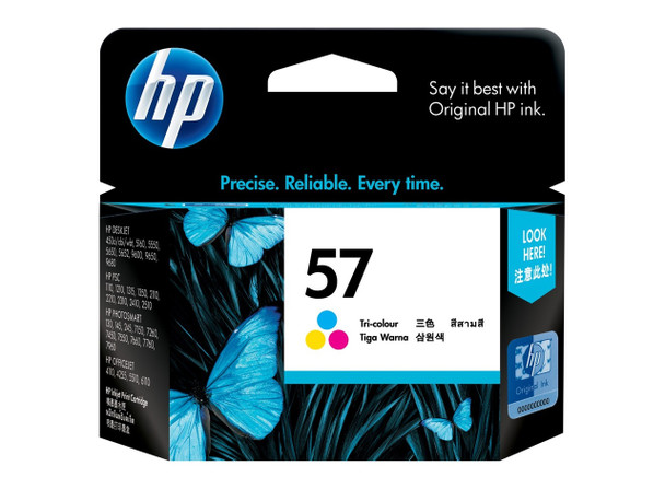 HP 57 Tri-Color Ink Cartridge C6657AA