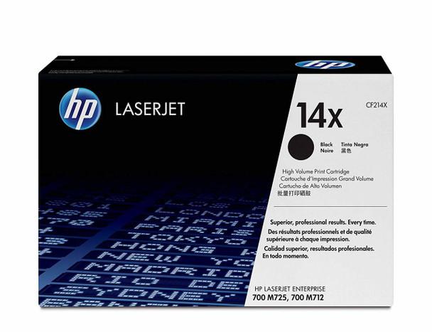 HP 14x Black High Yield LaserJet Toner Cartridge (CF214X)