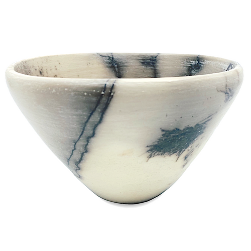 Horsehair & Feather Bowl