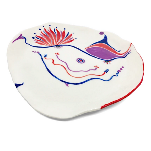 Large Plate / Bettina Milliken