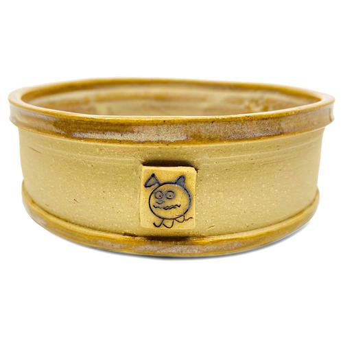 Beastware Ridged Pet Bowl / Beechnut