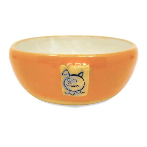 Beastware Low Pet Bowl / Orange