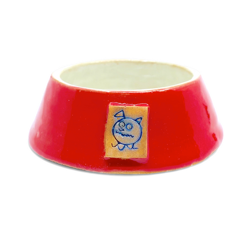 Beastware Frustum Pet Bowl / Red