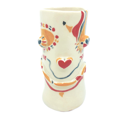 Funny Face Vase / Bettina Milliken