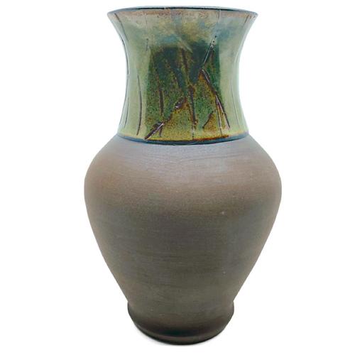 Green & Brown Vase / Michael Stanton