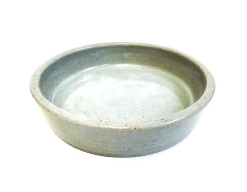 Round Baking Dish / Blue Celadon