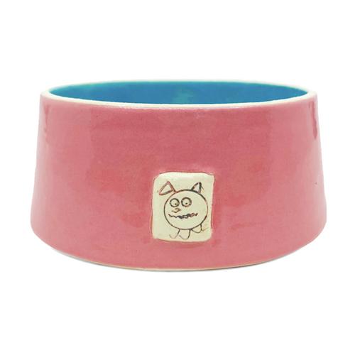 Beastware Frustum Pet Bowl / Pink