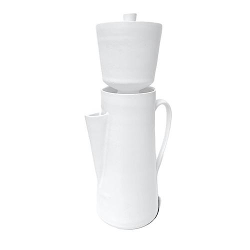 Alabaster Coffee Carafe