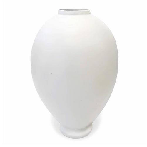 Alabaster Vase / Santa Fe Clay