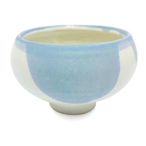 Blue & Cream Bowl / Santa Fe Clay
