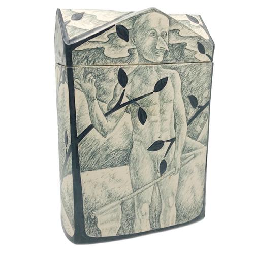 Covered Jar / Chuck Aydlett