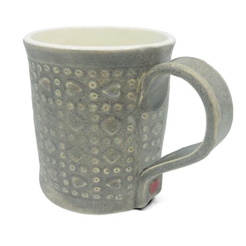 Braveheart Mug / Gray Wash