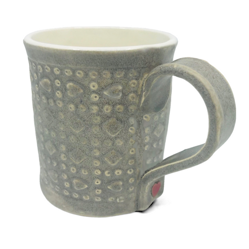 Braveheart Mug / Gray Wash