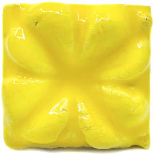 Lemon Bar Yellow Cone 04 Studio Glaze