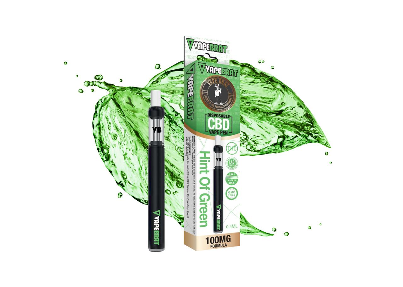 Vape Brat CBD Disposable Pen: 100mg