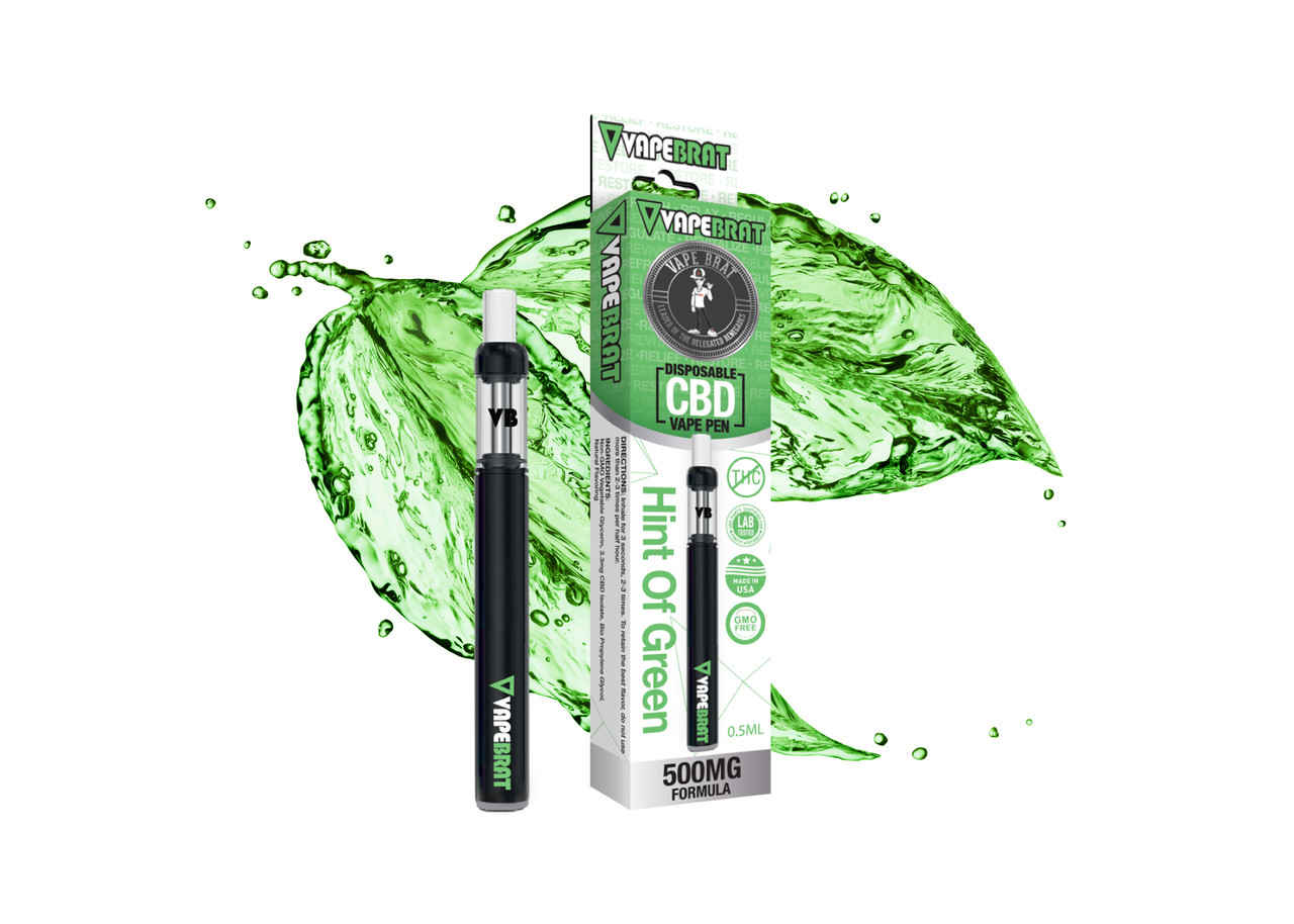 Vape Brat CBD Disposable Pen: 500mg CBD