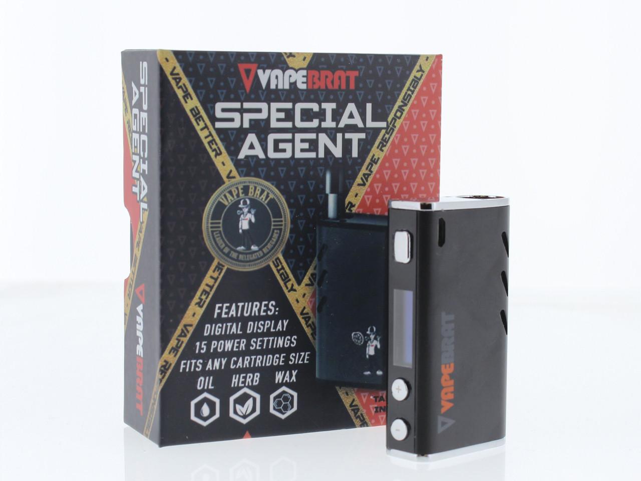 Special Agent Conceal Wax Cbd Vape Juice Pen Kit
