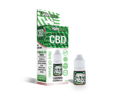 VapeBrat CBD Oil 1500mg-5ML