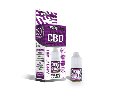 VapeBrat CBD Oil 3000mg-5ML