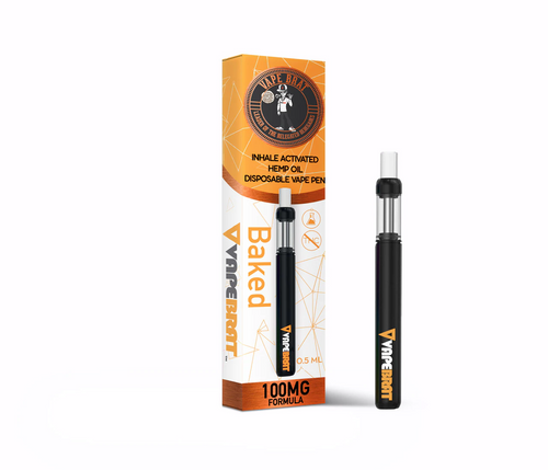 CBD Disposable Pen 100mg: CBD 1.2% Nicotine