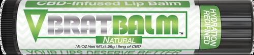 BratBalm : Natural Flavor  : CBD Infused Lip Balm