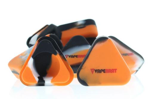 VapeBrat Triangle Silicone 5ml (3 Pack)