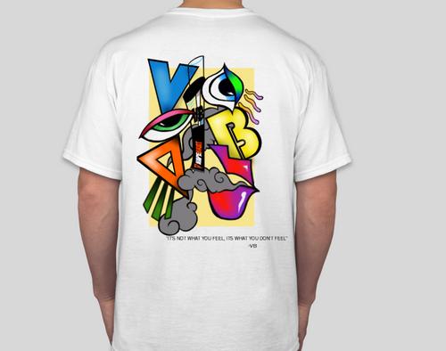 VapeBrat Premium Short Sleeve White T-Shirt Summer 2019 Collection