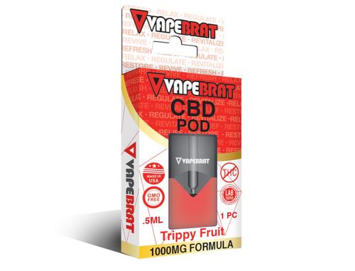VapeBrat 1000MG Pre-filled Pod