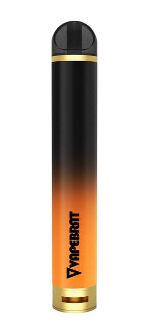 VapeBrat Zero : Nicotine Free 1800 Puff Hookah Pen (5 Pack)