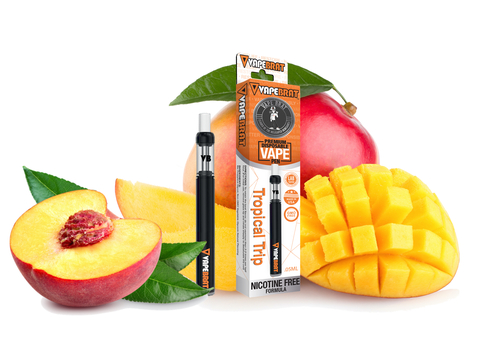 VapeBrat Disposable Nicotine Free Pen: Tropical Trip