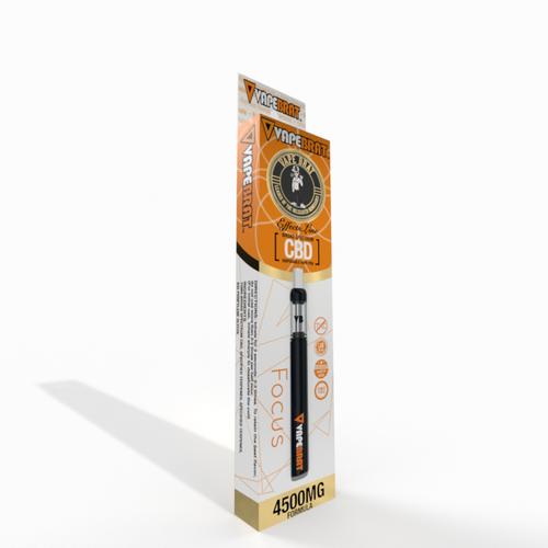VapeBrat Effects Line Disposable CBD Vape Pen : Focus 4500mg