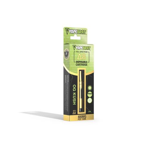 VapeBrat Delta 8 Vape Cartridge: OG Kush 400mg