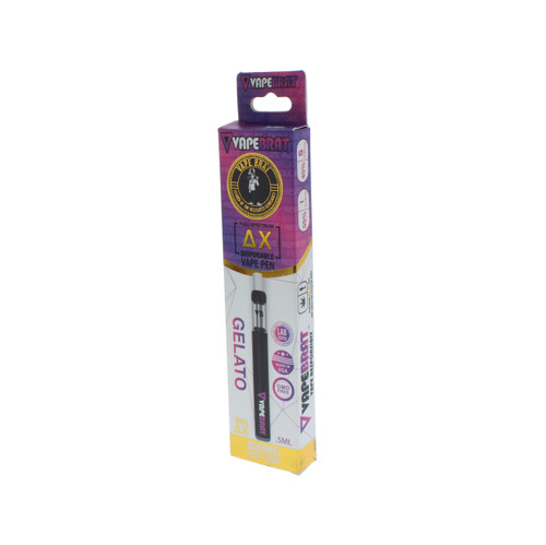 VapeBrat Delta X Vape Pen: Gelato 400mg