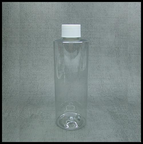 Clear PET 250ml Screw Top Bottle..