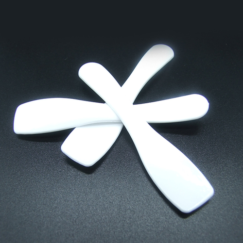 Gloss white spatulas