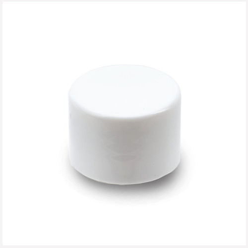 Smooth Wall White Cap 28/410