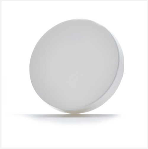 White Gloss Lid 89mm Neck With Wad