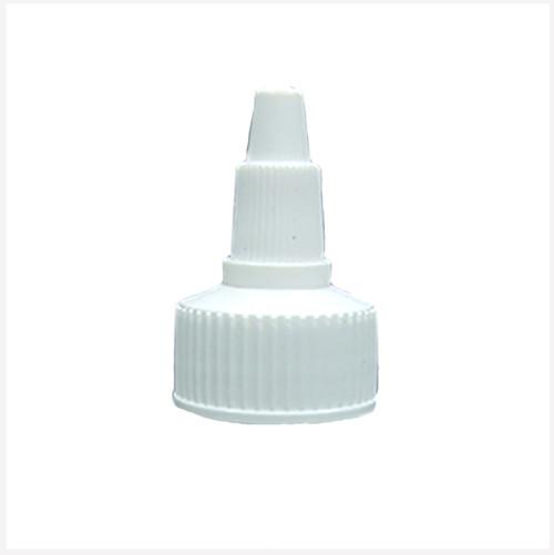 White Twist Top Cap 24/410