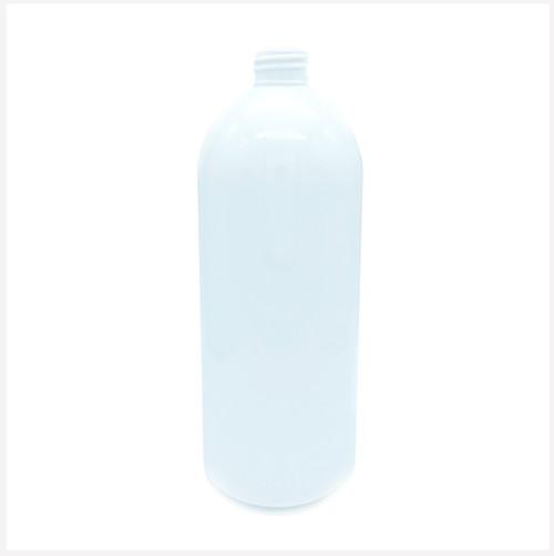 1000ml (1L) Boston Tall White PET Bottle 28/410 Neck