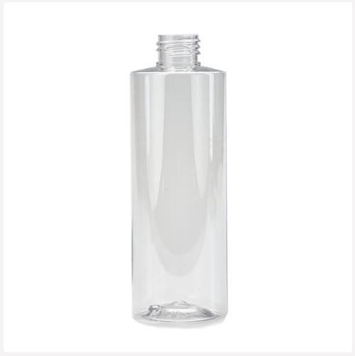 250ml Square PET Clear Bottle 24/410
