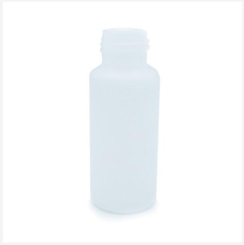 50ml HDPE Round Bottle Natural 24/410