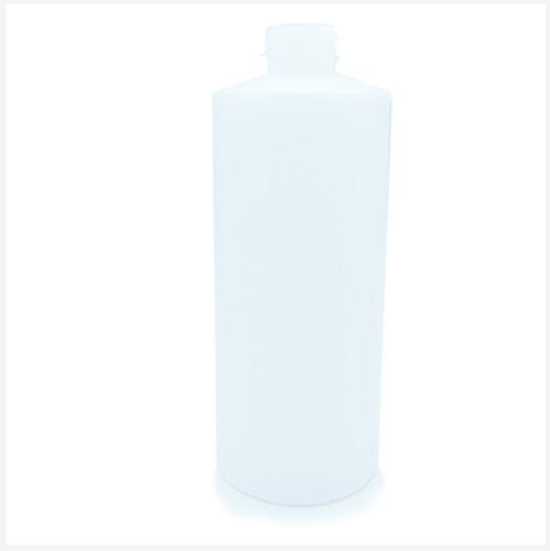 500ml Natural HDPE Bottle 28/410 Neck