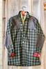 Grand Uplander Wool JacShirt - Green & Black Check