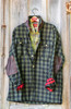 GUNNISON- W 4 WOODLAND WOOLENS GREEN/BLACK CHECK