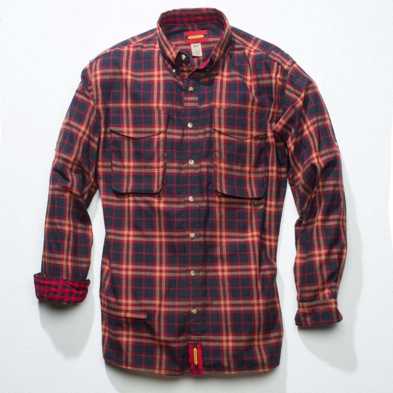 Exventurer - Black & Tan Crimson Estate Plaid